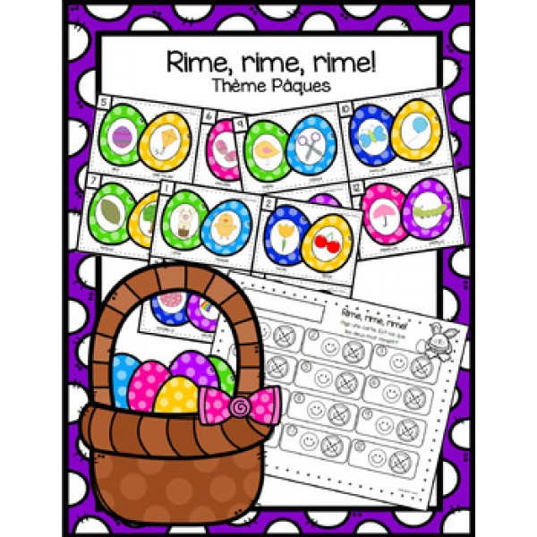 Les rimes - Pâques