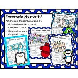 Ensemble d'activités de mathématiques hiver