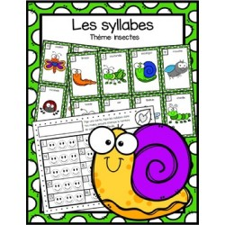 Les syllabes - insectes