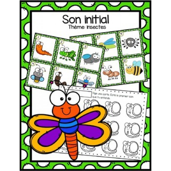 Son initial - insectes