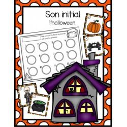 Son initial- thème de l'halloween