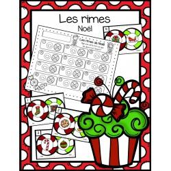 Les rimes - thème de Noël