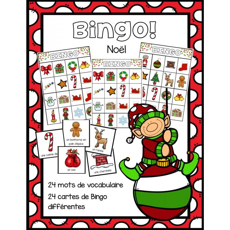 Bingo no l - Grille de bingo a imprimer gratuit ...