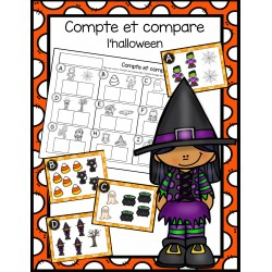 Compte et compare - halloween