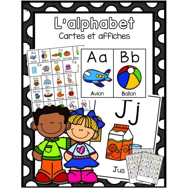 Affiches alphabet