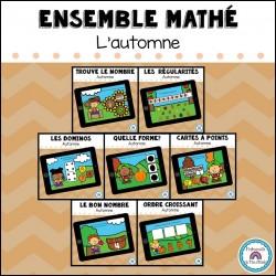 Ensemble CARTES BOOM mathé - Automne