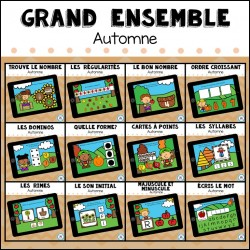 CARTES BOOM - Grand ensemble Automne