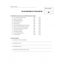 Reading Comprehension - Adventures of Tom Sawyer