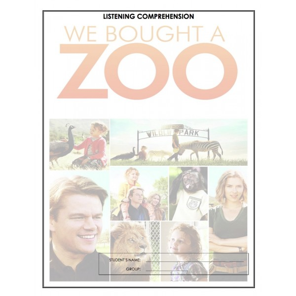 Listening Comprehension - We Bought a Zoo