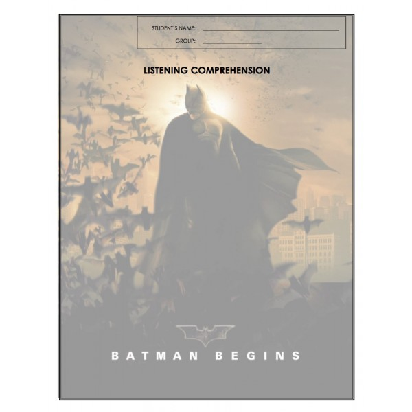 Listening Comprehension - Batman Begins