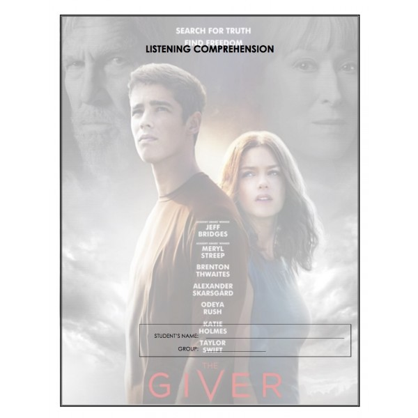 Listening Comprehension - The Giver