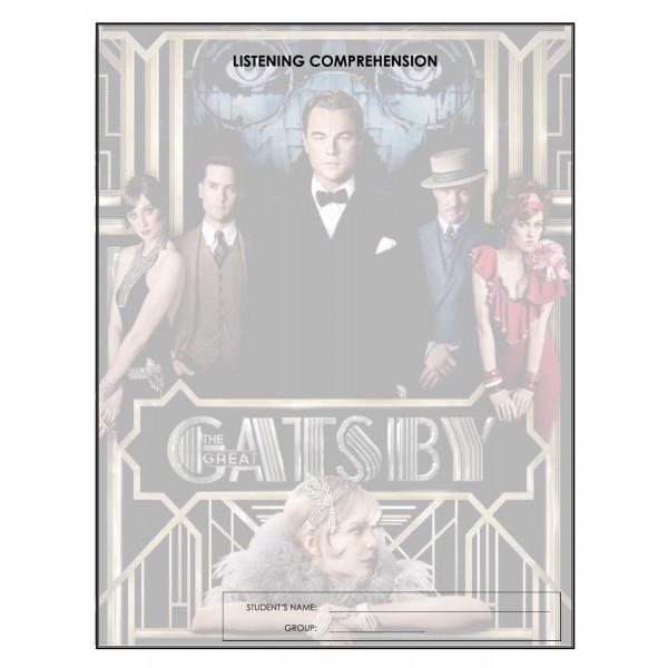 Listening Comprehension - The Great Gatsby