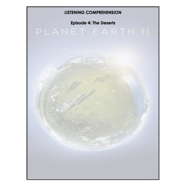 Listening Comprehension - Planet Earth 2 (ep.4)