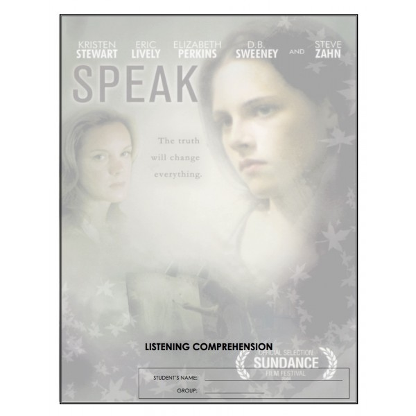 Listening Comprehension - Speak