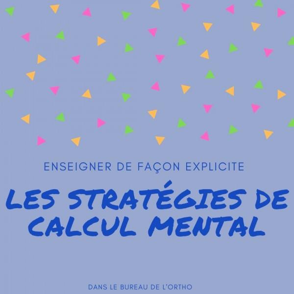 Stratégies de calcul mental