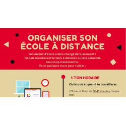 Aide-mémoire organisation école à distance