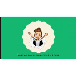 Animation sur les stratégies d'étude