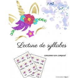 Syllabe Consonne-son composé