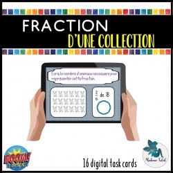 Fraction d'une collection    -   BOOM CARDS !