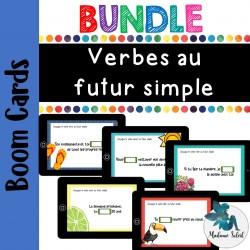 Bundle ensemble Verbes au Futur simple Boom cards