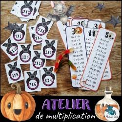 Atelier de multiplication de l'Halloween