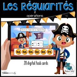 Règle de régularité numérique Boom Cards