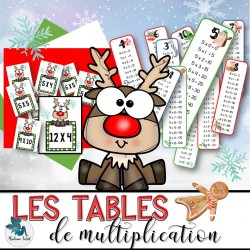 Atelier des tables de  multiplication de Noël