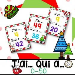 J'ai Qui a de Noël 0-50