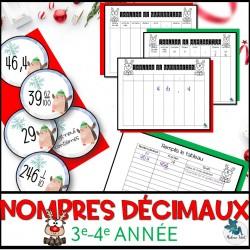 Nombres décimaux de Noël