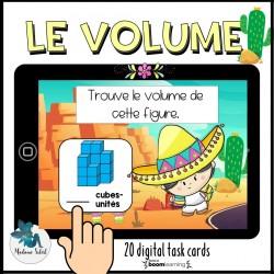 Le volume et ses cubes-unités Boom Cards