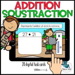 Addition et soustraction de nombres à 2 chiffres