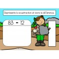 Bundle 1re année mai mathématique BOOM CARDS