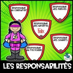 Responsabilités de classes