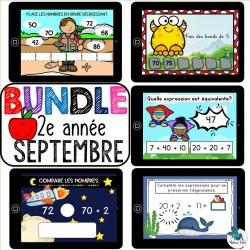 Bundle 2e année septembre mathématique