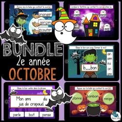 Bundle 2e année octobre français