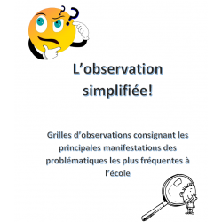 L'observation simplifiée