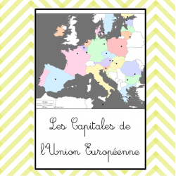 les capitales de l'Union Européenne Nomenclature