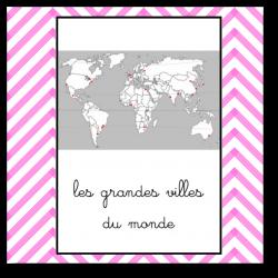 les grandes villes du monde - nomenclature