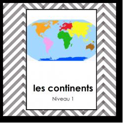 Les continents niv1 - nomenclature script
