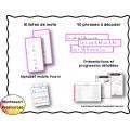 Série Rose de lecture Montessori