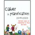 Cahier de planification 2019-2020 AVEC calendriers
