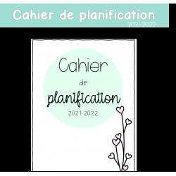 Cahier de planification 2021-2022 AVEC calendriers