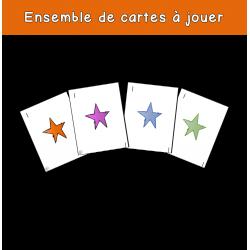 Cartes à jouer (chiffres seulement)