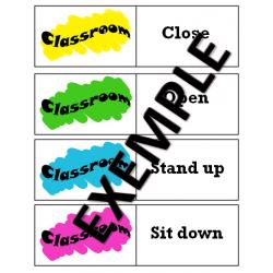 Jeu de mémoire / Classroom memory game