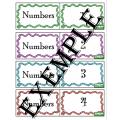 Jeu mémoire nombre / Numbers memory game