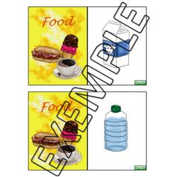 Cartes éclair / Food flashcards