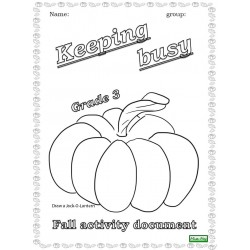 Fall activity document