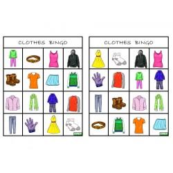 Clothes - BINGO