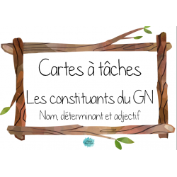 Constituants du groupe du nom (GN) - Le printemps
