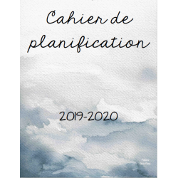 Cahier de planification Bleu (2 versions)